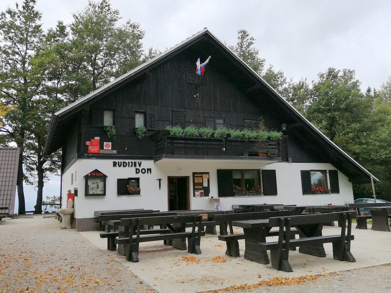 Donačka gora, Rudijev dom
