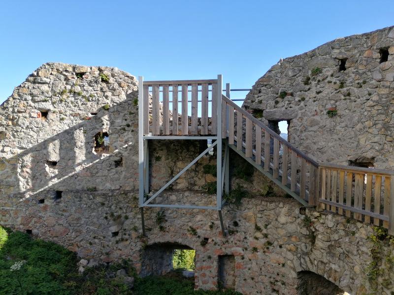 Razgledna točka na starem gradu Konjice