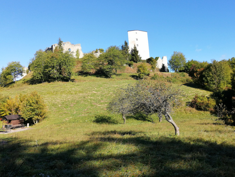 Ostanki starega gradu Slovenske Konjice