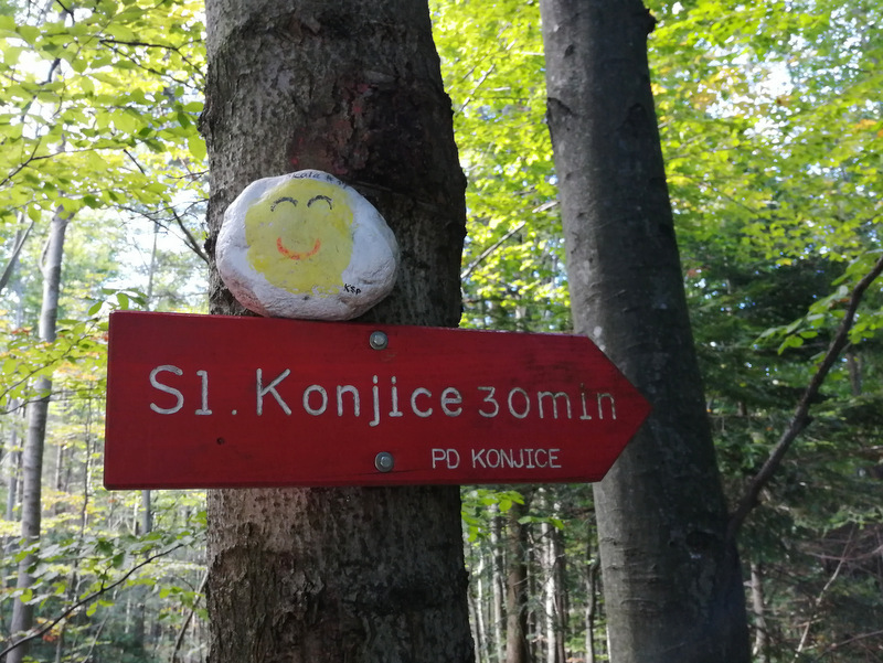 Smerokaz za Slovenske konjice na Konjiški gori