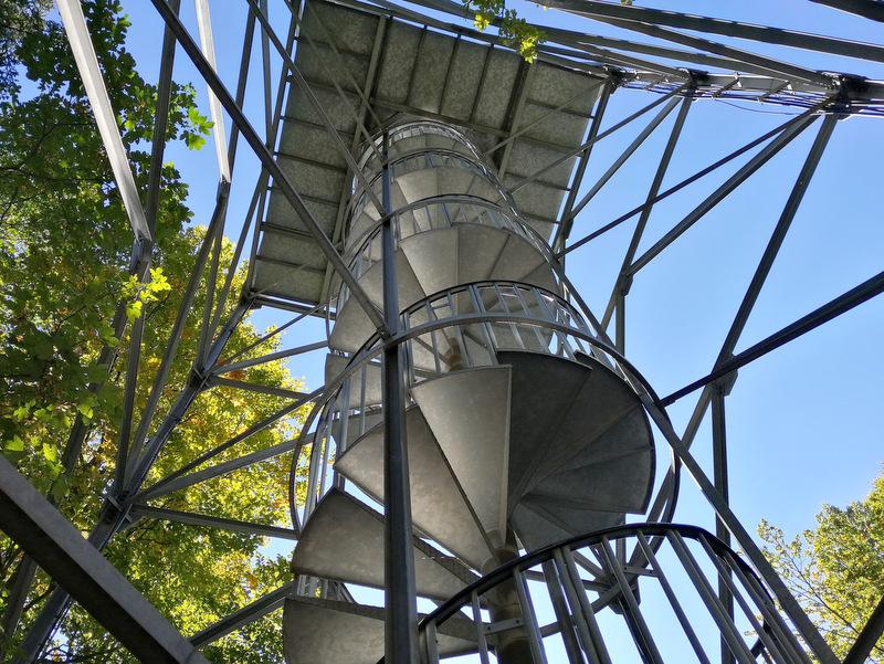 Razgledni stolp na Stolpniku, konstrukcija