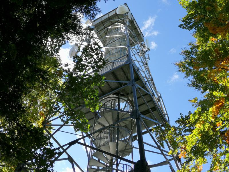 Konstrukcija razglednega stolpa