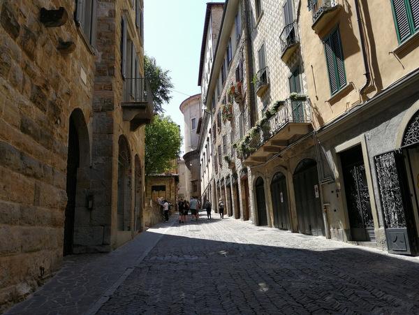 Bergamo ulice