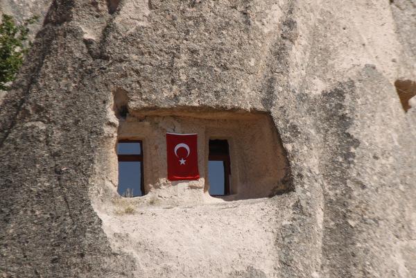 Kapadokija hiše