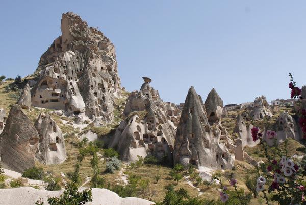 Kapadokija nenavadna pokrajina