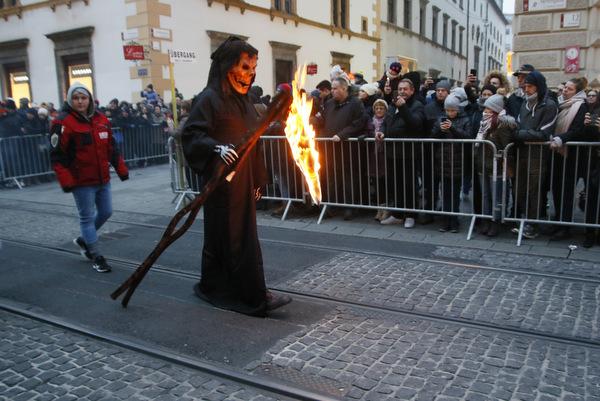 Povorka parkeljnov v Grazu